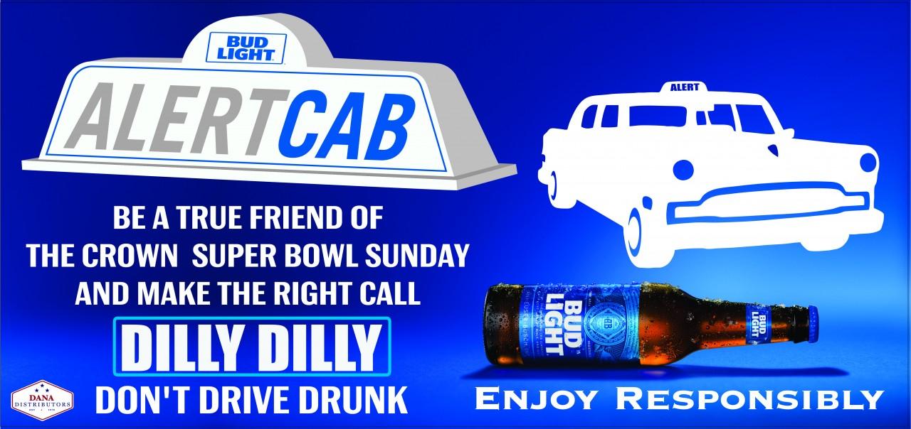 Alert Cab Super Bowl