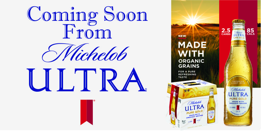 COMING SOON MICHELOB ULTRA GOLD